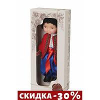Кукла Мальчик в вышиванке (красный)