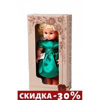Кукла Нарядная 40 см (зеленый) В202/З