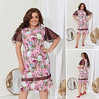Платье женское 2836вл батал