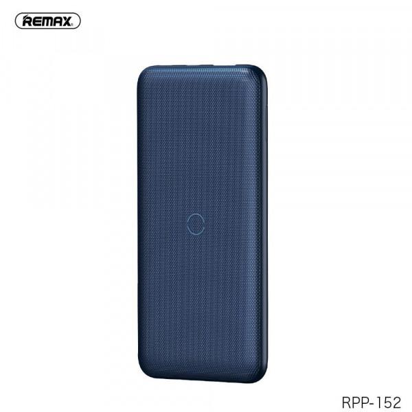 Power Bank Remax Resu RPP-152 (Беспроводной) 10000 mAh Blue