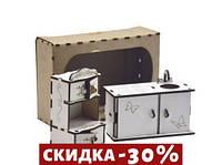 Набор деревянной мебели Кухня Р6б