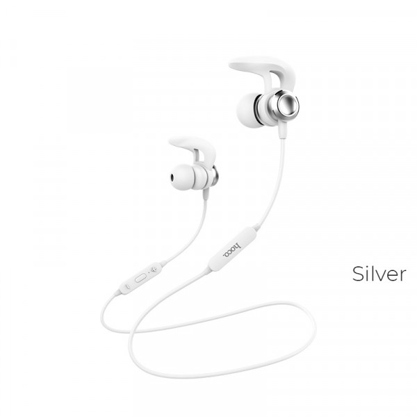 Наушники HOCO ES22 Flaunt sportive wireless headset Silver