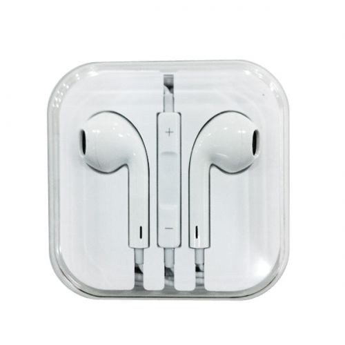 Наушники Apple EarPods 3,5 mm With Remote and Mic H/C White