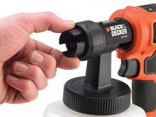 Краскопульт BLACK&DECKER HVLP400, 350Вт, 1200мл., фото 2