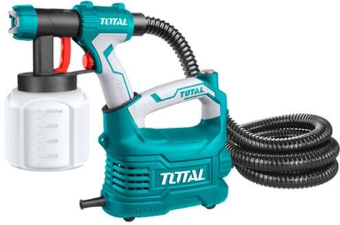 Краскопульт TOTAL TT5006, с напольной базой, 500Вт, 800мл.