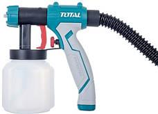 Краскопульт TOTAL TT5006, с напольной базой, 500Вт, 800мл., фото 2