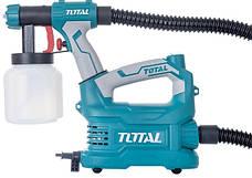 Краскопульт TOTAL TT5006, с напольной базой, 500Вт, 800мл., фото 3