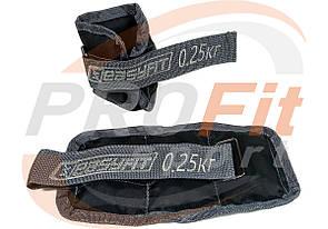 Утяжелитель для рук и ног 0,25-5 кг наборной и фиксированного веса (поштучно)