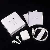 Беспроводные наушники AirPods 2. Оригинальные надписи, штрих-код в реестре на официальном сайте Apple.