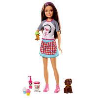 Игровой набор Барби сестричка Скиппер Вкусные развлечения Barbie Skipper with Ice Cream and Puppy SKL52-241104