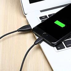 Кабель Baseus Small Pretty Waist USB - Lightning 1.2 м 2 А Чорний (CALMY-01), фото 2