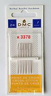 Иглы вышивальные DMC № 24 (6 шт), фото 1