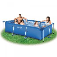 Каркасный плямоугольный бассейн Intex 260 х 160 х 65 см