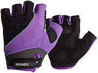 Велорукавички PowerPlay 5281 D Фіолетові S SKL24-144314