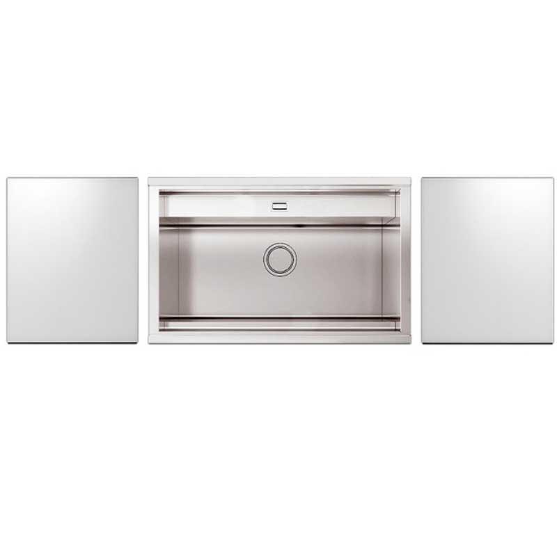 Кухонні мийки Apell Кухонна мийка з телескопічним змішувачем Apell Regola RE791IKITW