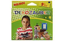 Фломастеры Malinos нестираемые для декорирования Dekozauber, 9 шт SKL17-149647