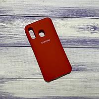 Чохол Silicone Case Samsung Galaxy A40 (2019) Червоний