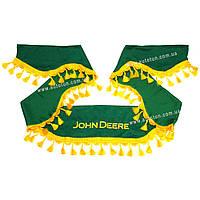 СOMFORT – Комплект шторок в кабину комбайна, Green, 1+2, JOHN DEERE