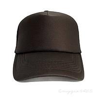 Качественная черная кепка тракер унисекс
