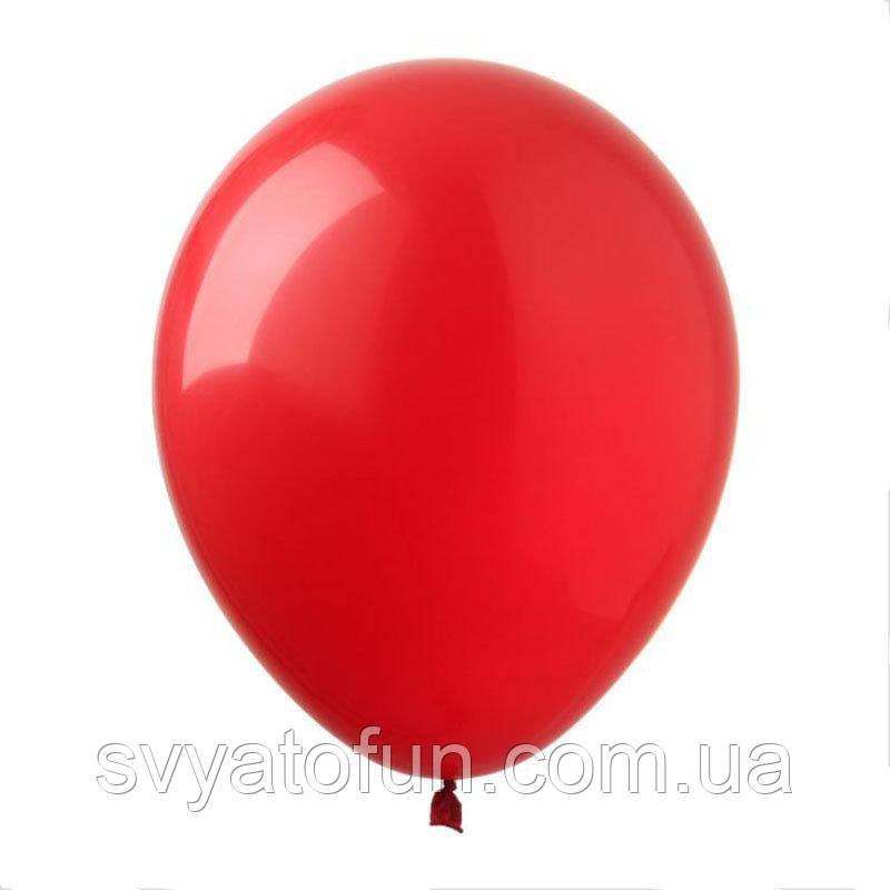 """Латексные шарики пастель 12"""" красный 20шт/уп SL12-008 ArtShow"""
