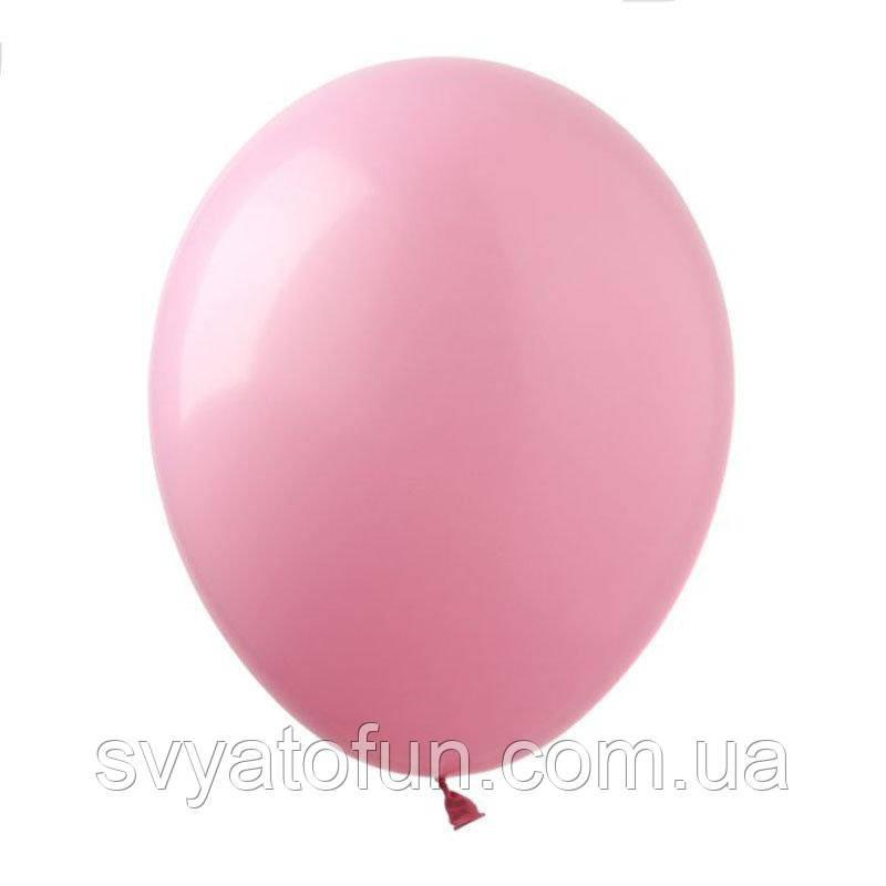 """Латексні кульки пастель 12"""" рожевий (20 шт/уп), SL12-012, ArtShow"""