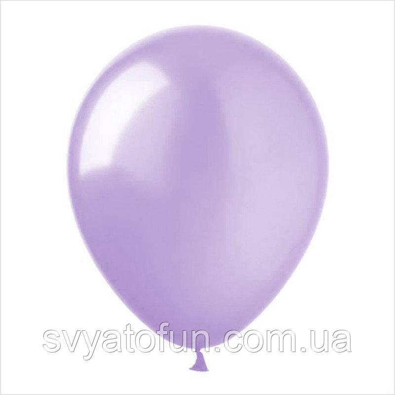 """Латексные шарики металлик 10"""" нежный сиреневый 100шт/уп SL10-050 ArtShow"""