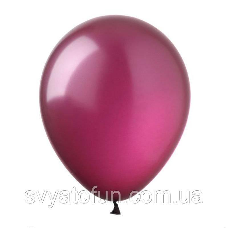 "Латексные шарики металлик 12"" бургунди 100шт/уп SL12-040 ArtShow"