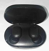 Навушники вакуумні AirDots Black MDR MI TWS, фото 1