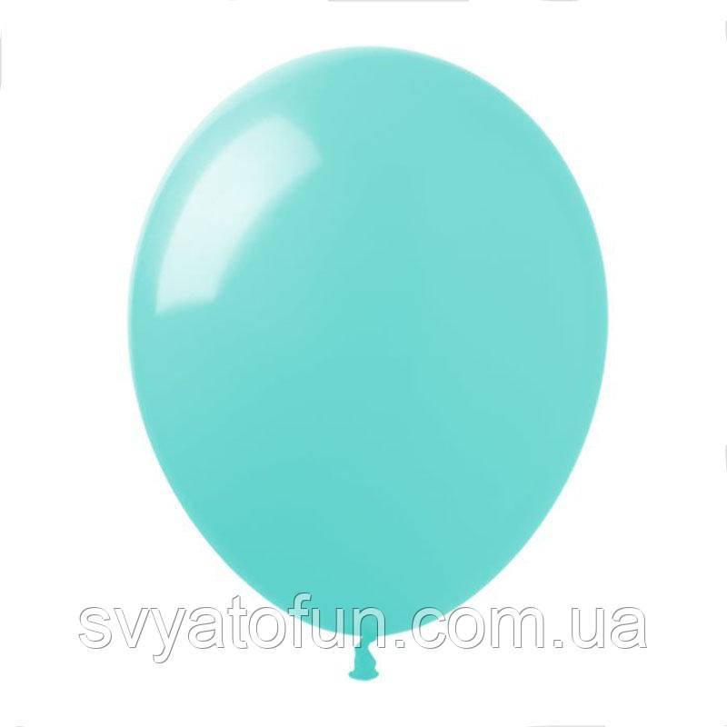 """Латексные шарики пастель 12"""" аквамарин 100шт/уп SL12-037 ArtShow"""