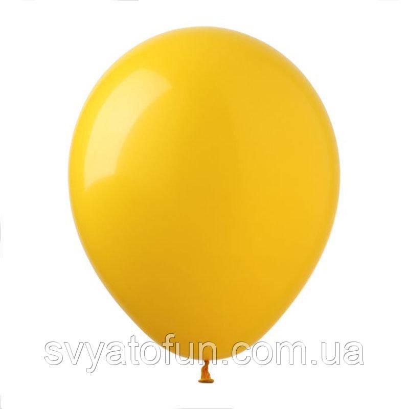 """Латексные шарики пастель 12"""" желтый теплый 100шт/уп SL12-005 ArtShow"""