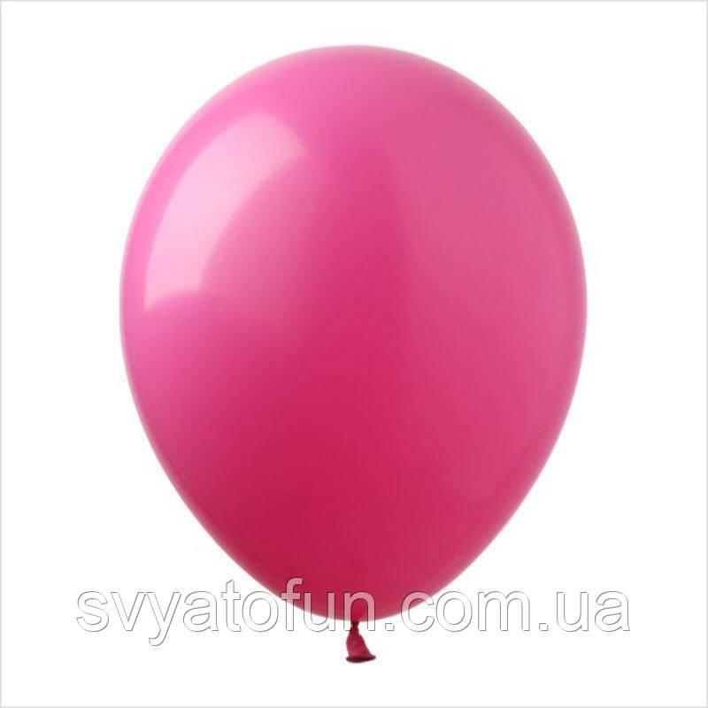 """Латексные шарики пастель 12"""" малиновый 100шт/уп SL12-009 ArtShow"""