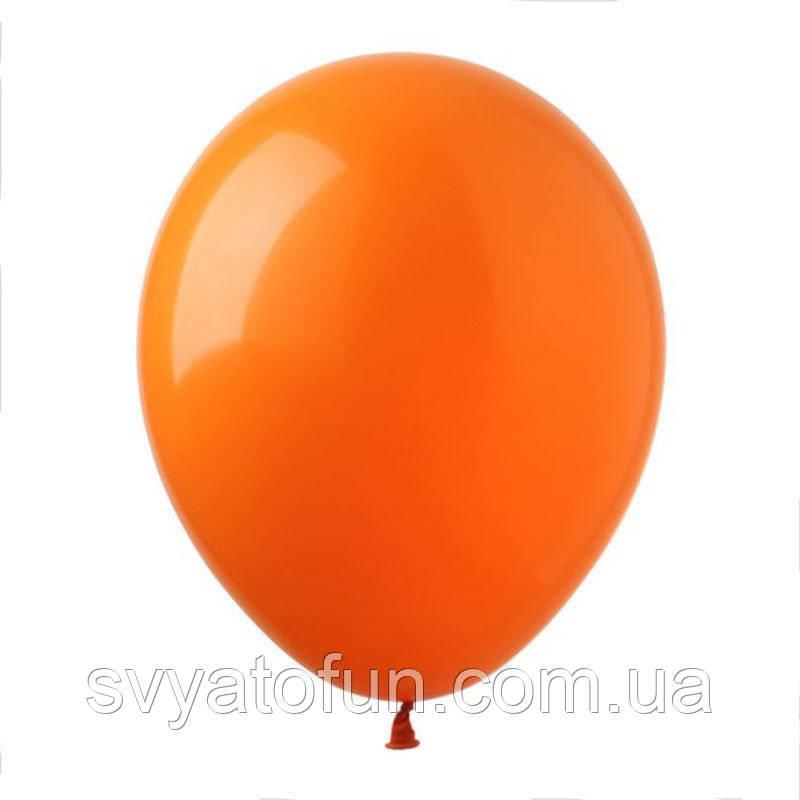 """Латексные шарики пастель 12"""" оранжевый 100шт/уп SL12-010 ArtShow"""