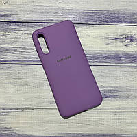 Силіконовий чохол Silicone Case Samsung Galaxy A50 (2019) Бузковий