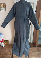 Подрясник лён-габардин 165см, 50 размер, для священнослужителя