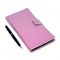 Тревел-кейс на 2 паспорта для авиабилетов Luxyart прессованная кожа Розовый LT-703, КОД: 1266851