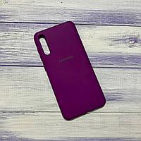 Чохол Silicone Case Samsung Galaxy A50 (2019) Баклажан