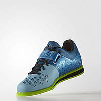 Штангетки Adidas Powerlift 3 голубые мужские и женские, обувь для тяжелой атлетики