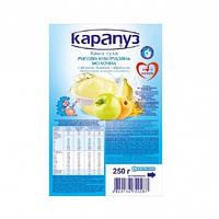 Каша молочная с яблоком, бананом, абрикосом с бифидобактериями 4м+ 250г Карапуз Украина 1062110