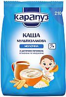 Каша молочная мультизлаковая с печеньем,витаминами и минералами Карапуз Украина 1062122