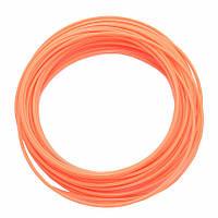 Пластик для 3D ручки PLA 10 м Оранжевый FL-1244, КОД: 1455322