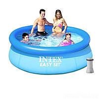 Надувний басейн з насосом