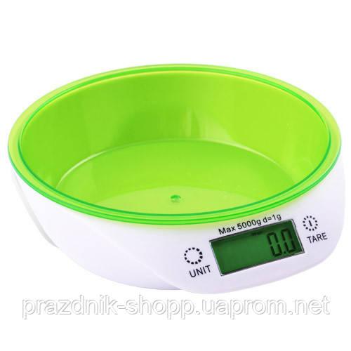 Весы кухонные 51718, 5кг (1г), чаша