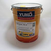 Масло моторное Юкойл TURBO DIESEL 15W-40 (20 л.) минеральное YUKOIL
