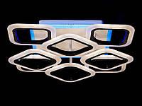 LED-люстра потолочная с пультом управления цвет коричневый 110W Diasha&AS8060/4+4CF LED 3color dimmer