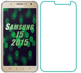 Защитное стекло Samsung Galaxy J5 J500 (Прозрачное 2.5 D 9H) (Самсунг Джей 5 Джи 500)