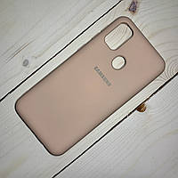 Чехол Silicone Case Samsung Galaxy M21 (2020) Персиковый