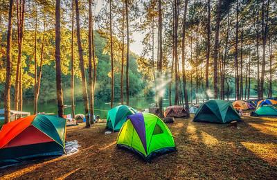 Палатки туристические Green Camp, Coleman