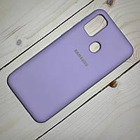 Чехол Silicone Case Samsung Galaxy M21 (2020) Лавандовый