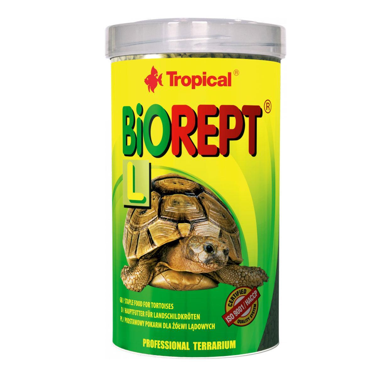 Корм для сухопутних черепах 500 мл (140 г) Tropical Biorept L