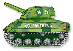 Шар фольгированный Танк (зеленый) 1207-1060
